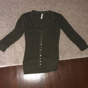 Olive sweater excellent condition